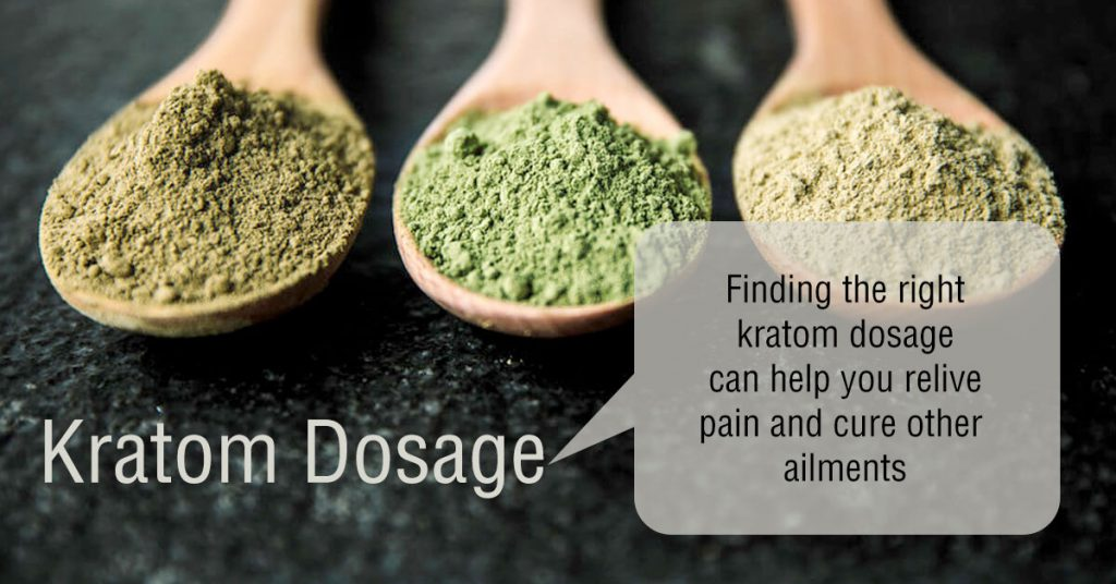 Right kratom dosage