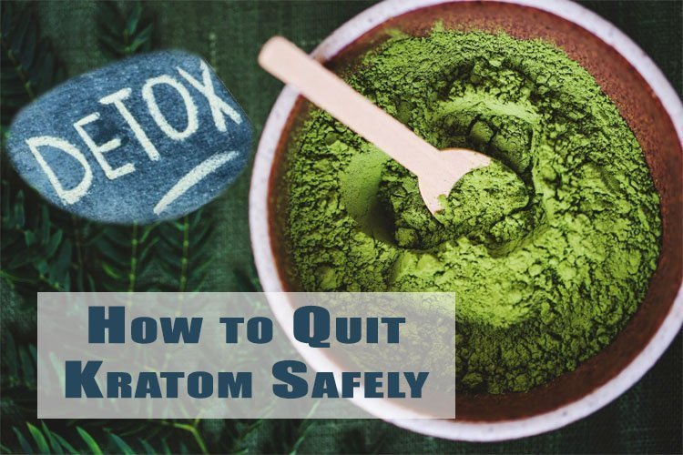 how to quit kratom safely