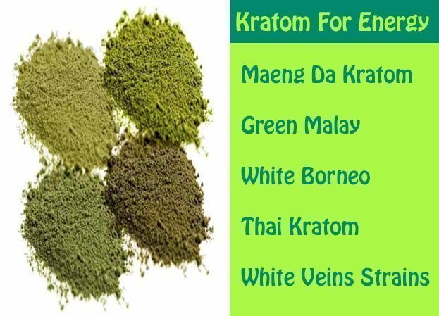 kratom for energy and focus