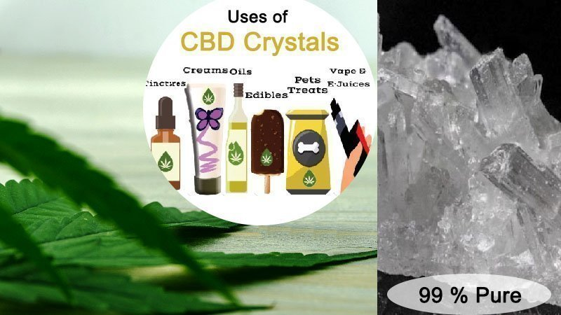 Uses of CBD Crystals