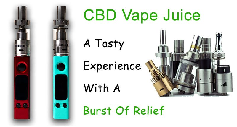 CBD Vape Juice - Best methord to take
